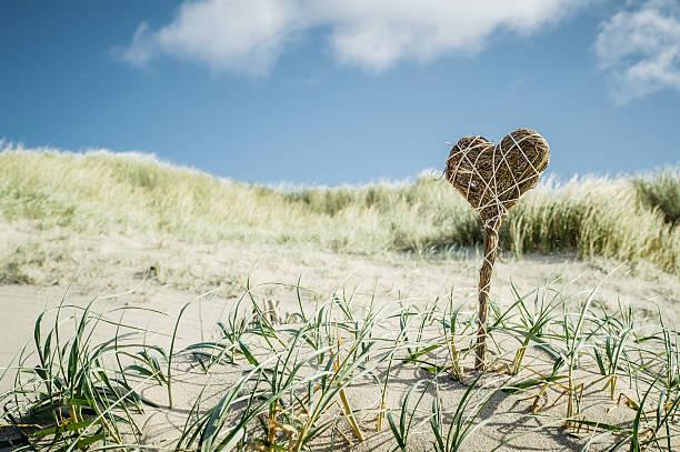 love at the beach - sylt urlaub stock-fotos und bilder