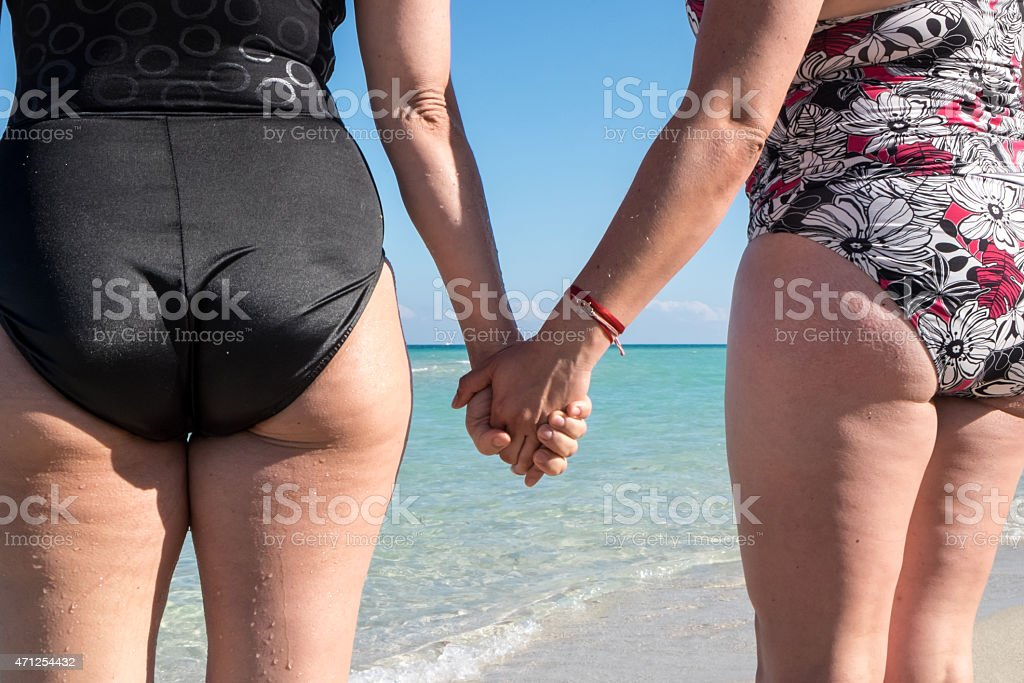 Love at the Beach stock photo