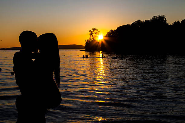 Amour à la plage - Photo