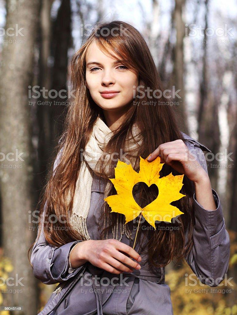 I love autumn royalty-free stock photo