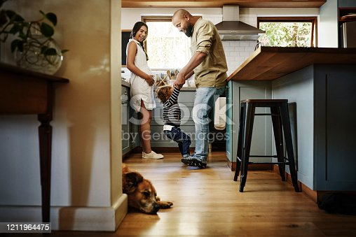 istock Love begins at home 1211964475