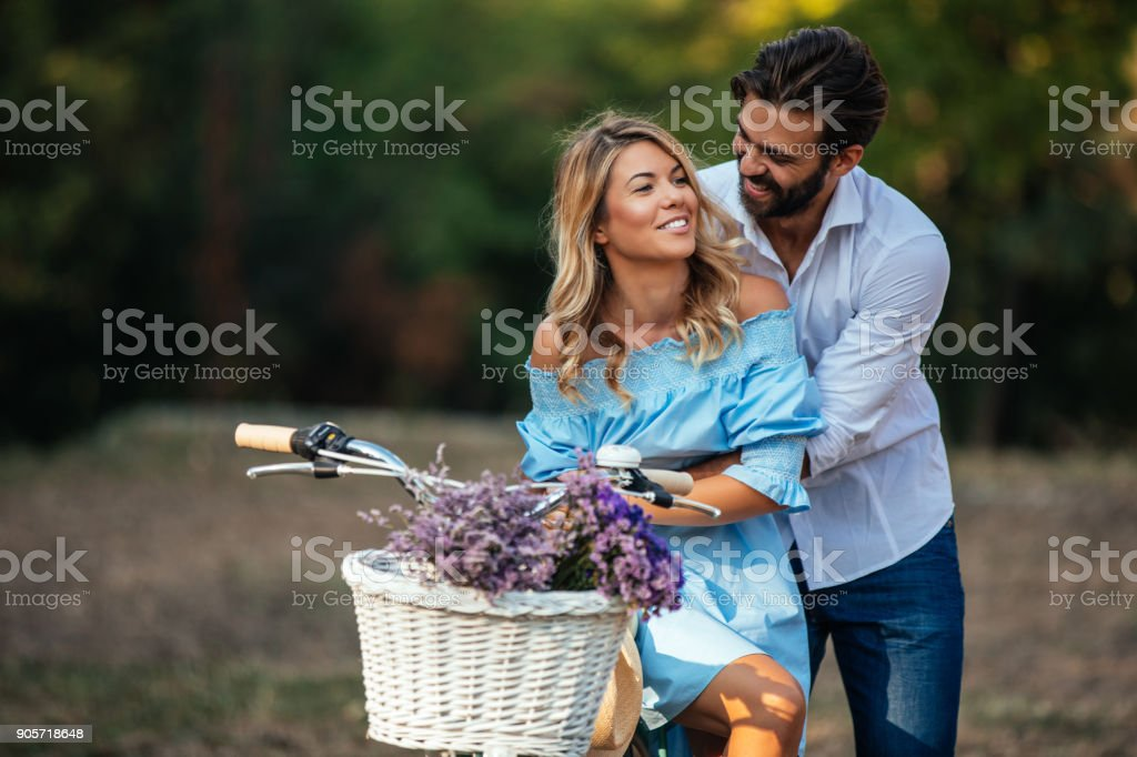 Love being close to you stock photo