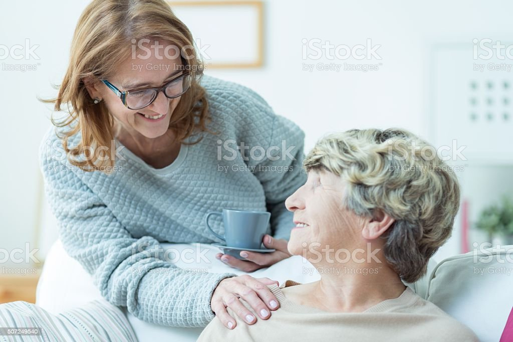 Love between family members stock photo