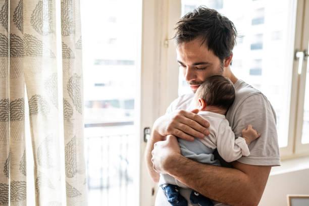 Liebe zwischen Vater und Sohn – Foto
