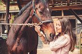 Love between human and animal