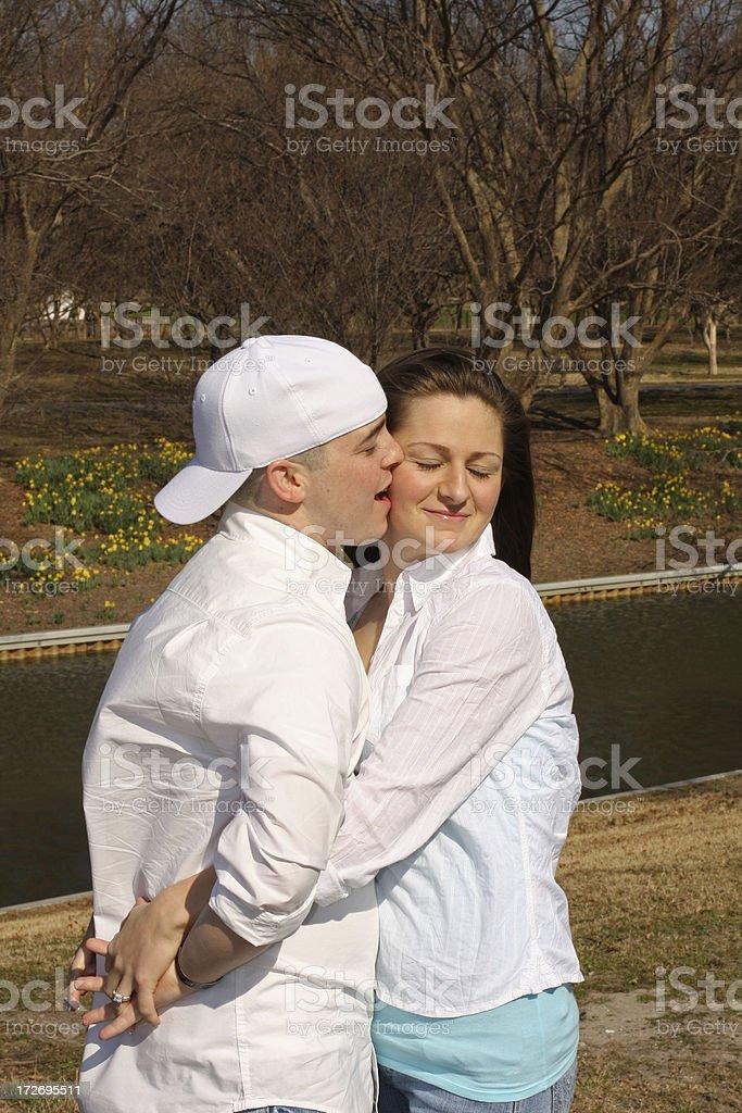 Love Bite royalty-free stock photo