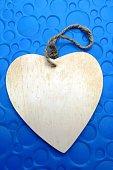 Love, blue heart