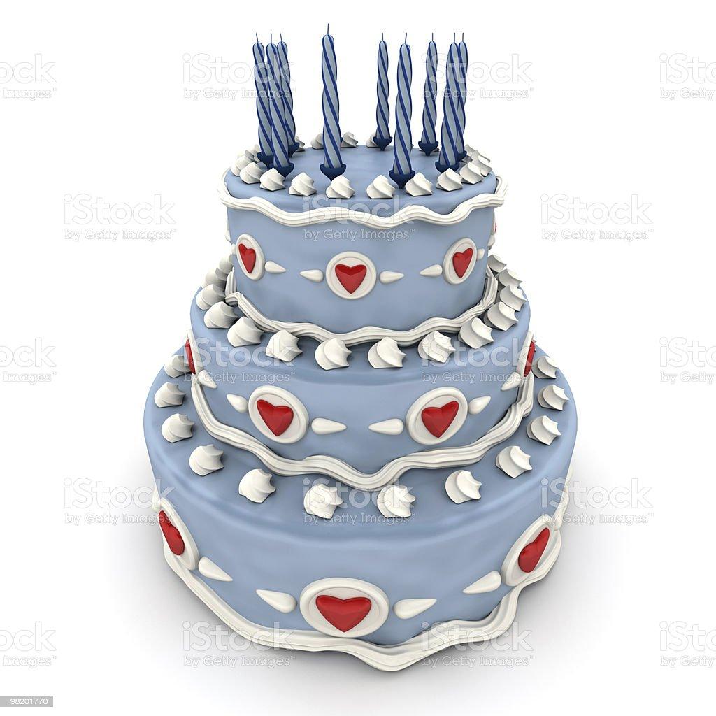 Love cake royalty-free stock photo