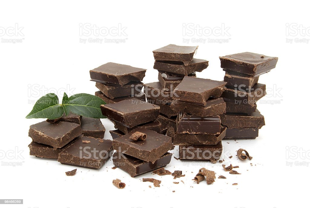 Amore di cioccolato foto stock royalty-free