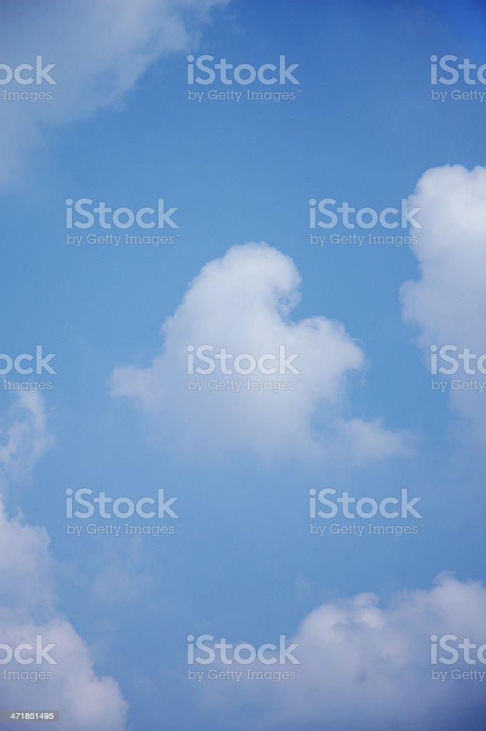Love cloud royalty-free stock photo