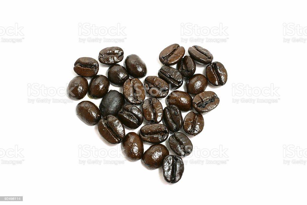 I Love Coffee royalty-free stock photo