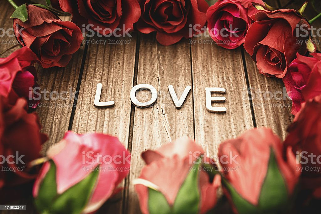 love concept for St. valentine royalty-free stock photo
