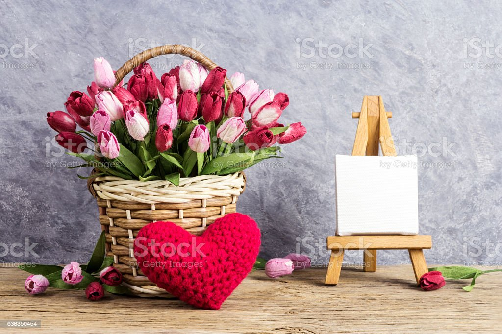 Love concepts for valentines day and wedding stock photo