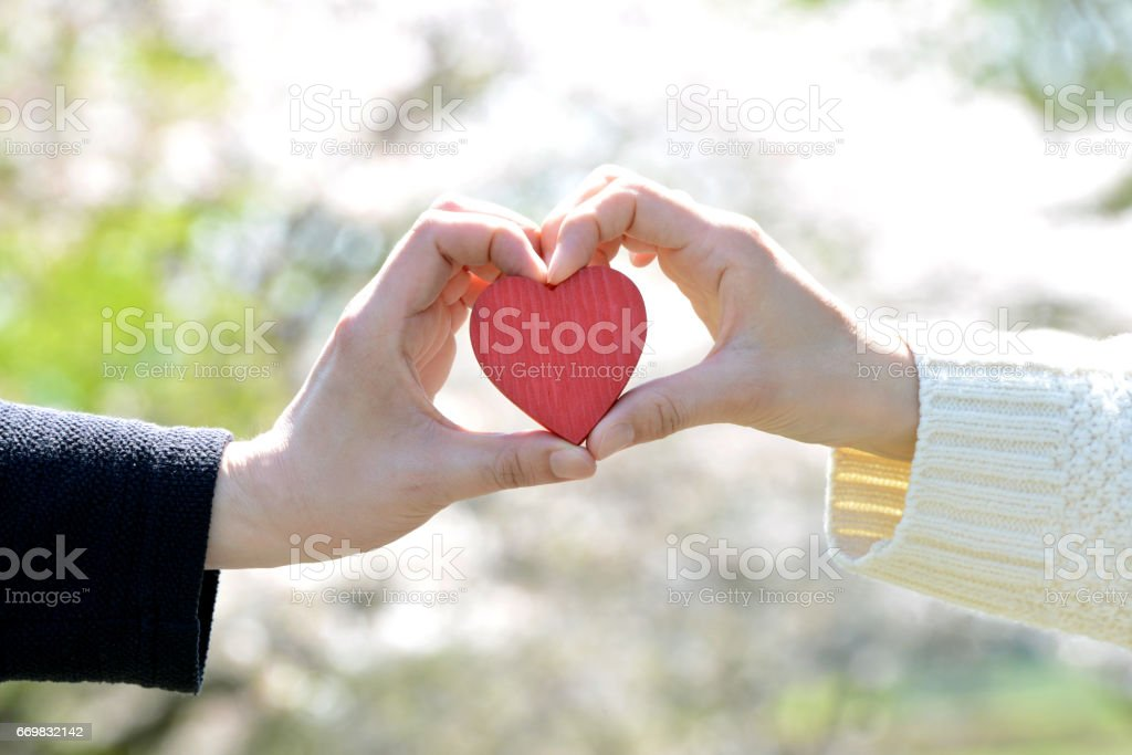 Love concepts stock photo