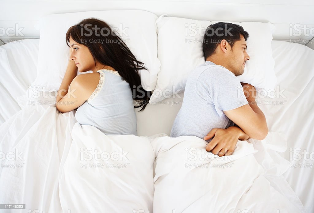 Love conflict stock photo