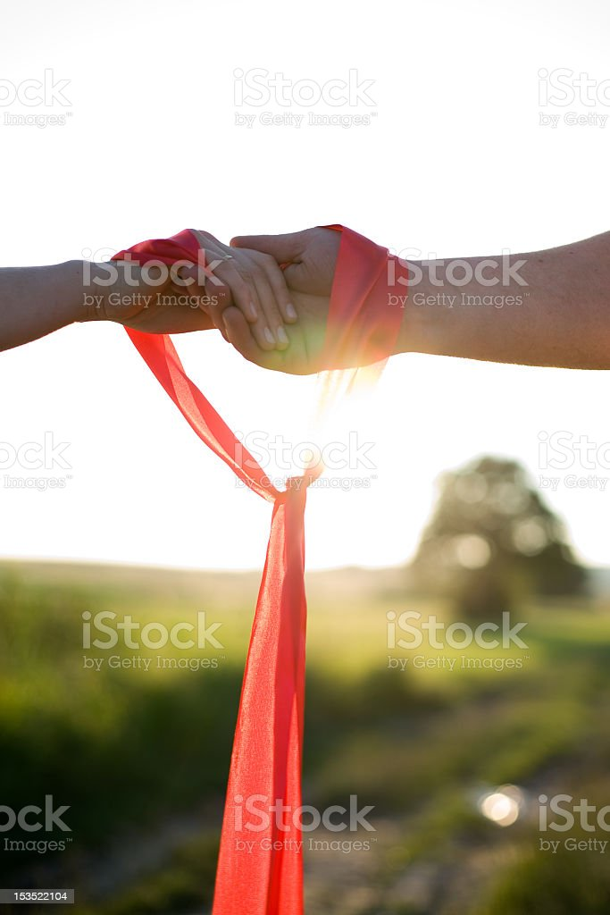 Love connection royalty-free stock photo
