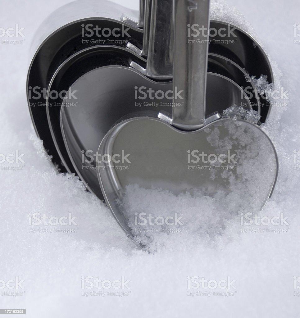 Love cups stock photo