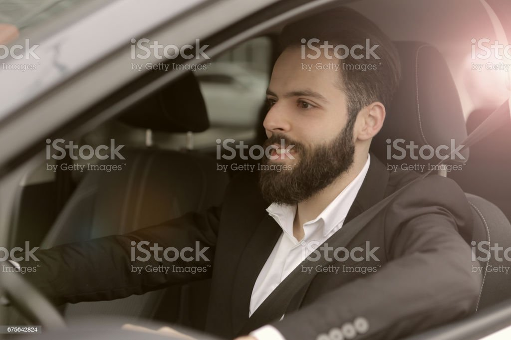 I love driving royalty-free stock photo