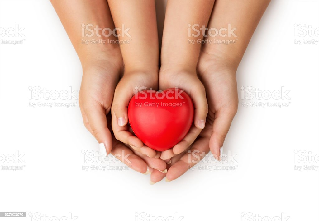 Love, family concept stock photo