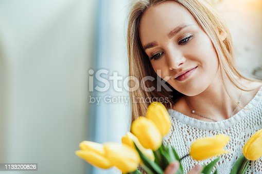 istock I love flowers! 1133200826