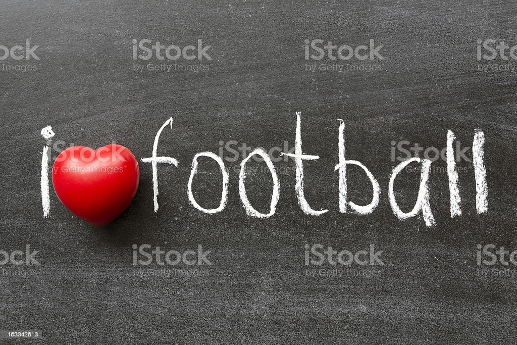 love football royalty-free stock photo
