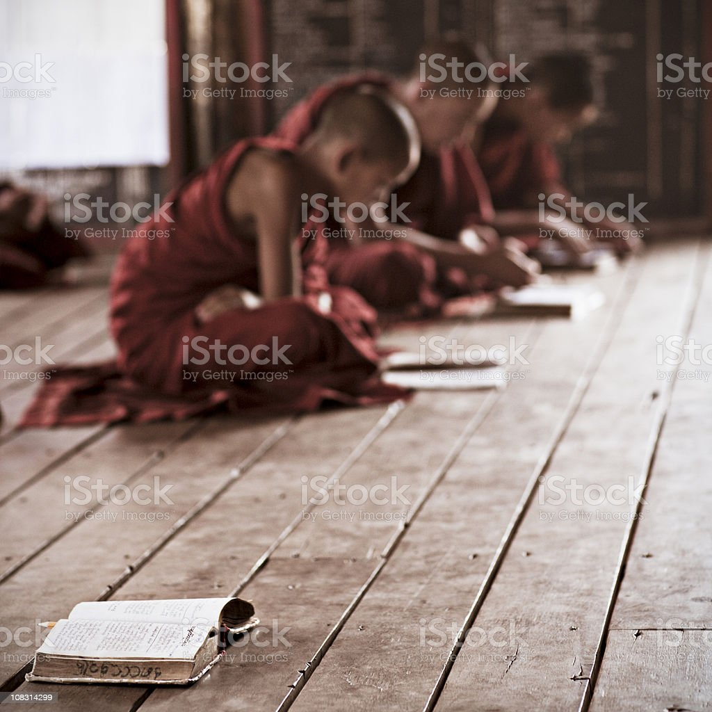 Love for Buddhism royalty-free stock photo