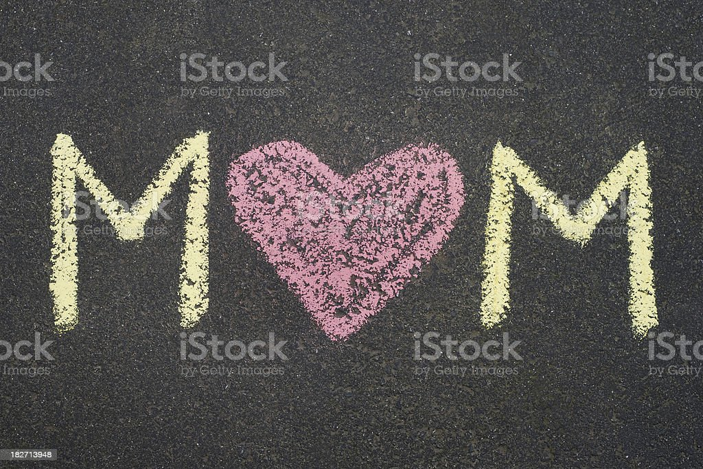 Love for Mom royalty-free stock photo