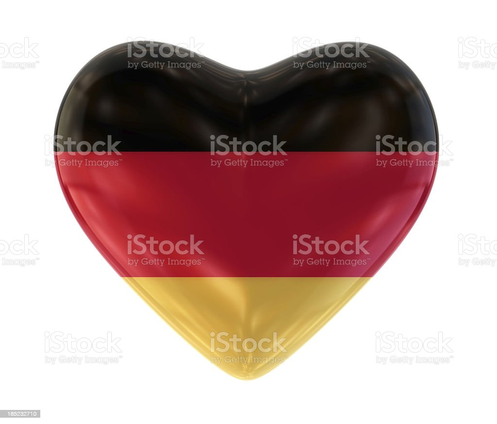 I Love Germany stock photo
