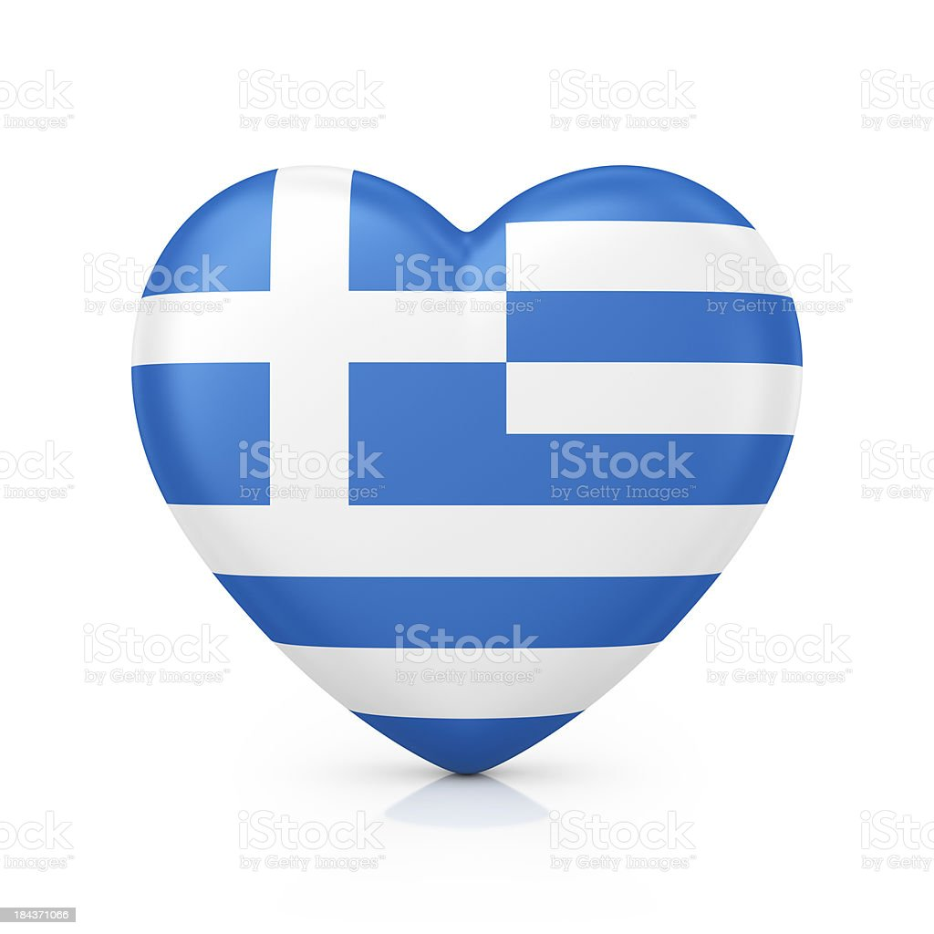 I love Grecce royalty-free stock photo