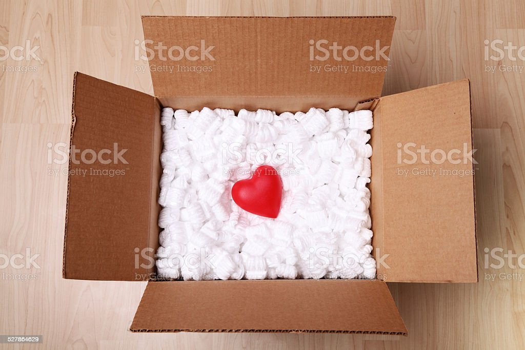 Love... Handle With Care stock photo