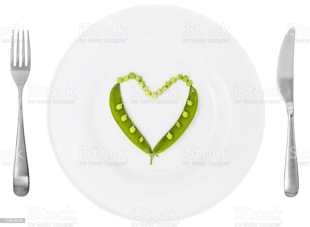 I love healthy food royalty-free stock photo