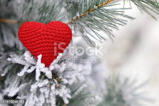 Concept of romance, New Year celebration, Valentine's day or winter weather