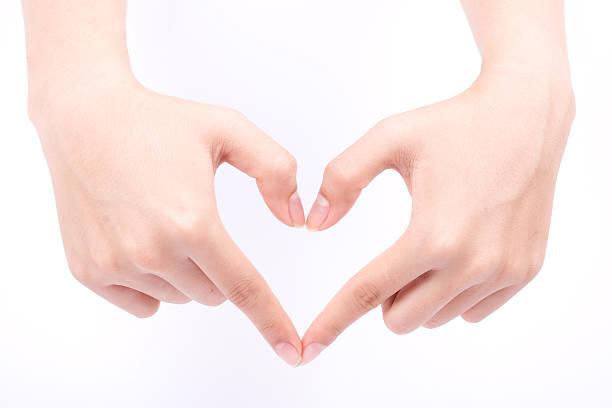 liebe Herzform Ausarbeitung und medizinische Versorgung Komposition – Foto