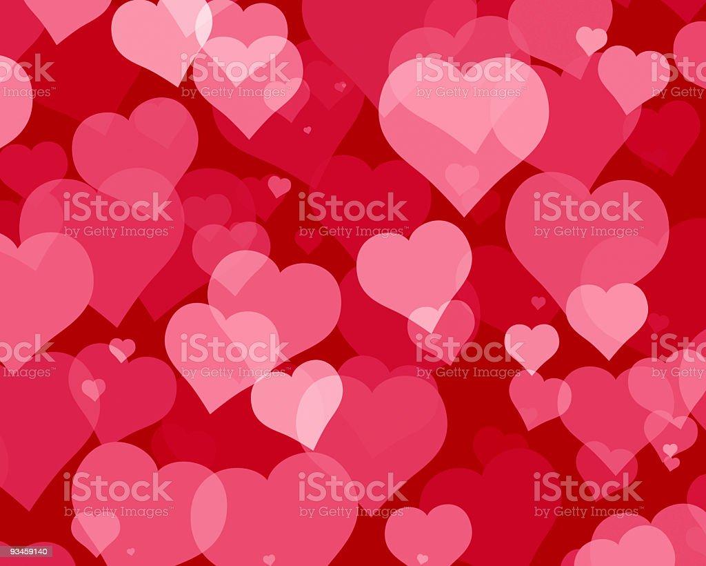 Love Hearts 4 stock photo