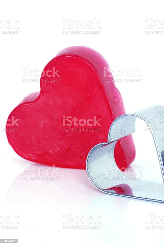 Amore cuori foto stock royalty-free