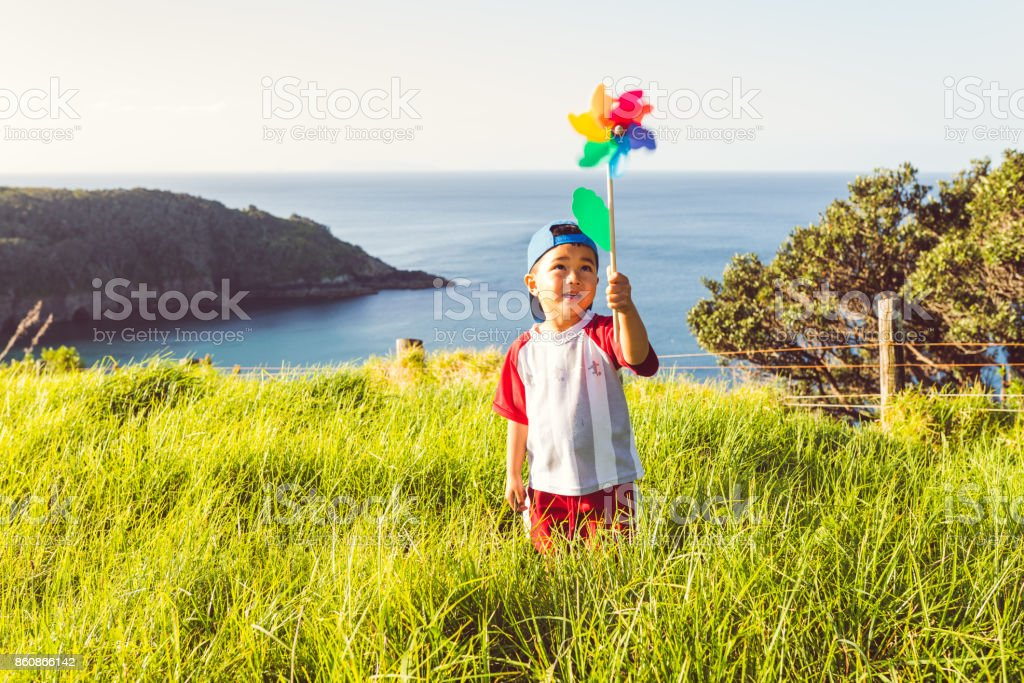 I love hikes and nature. stock photo
