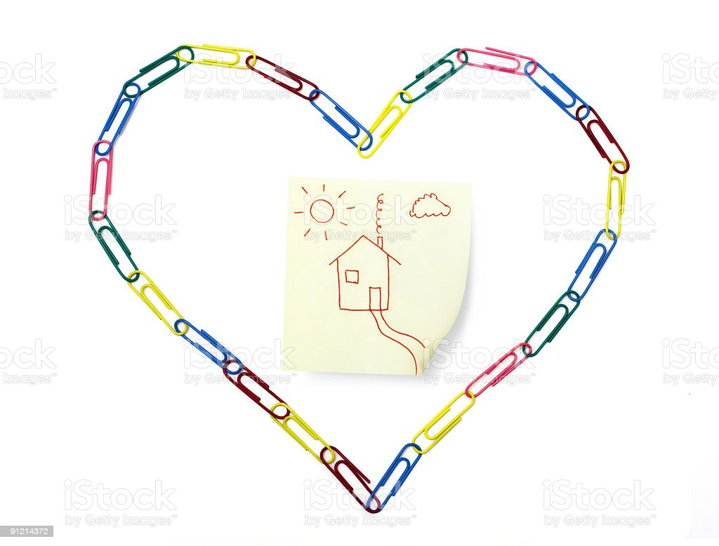 Love Home royalty-free stock photo