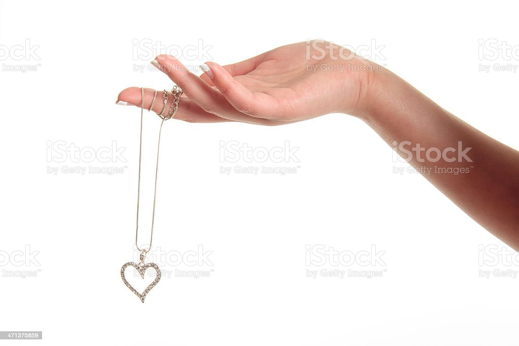 Love in Hand stock photo