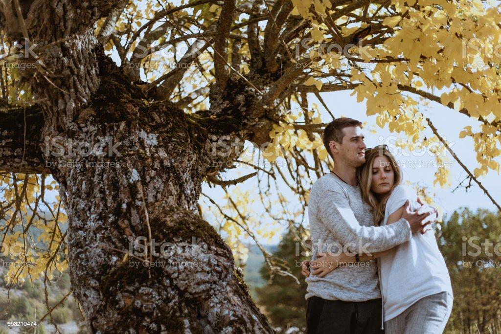 Amor en la Provenza - foto de stock