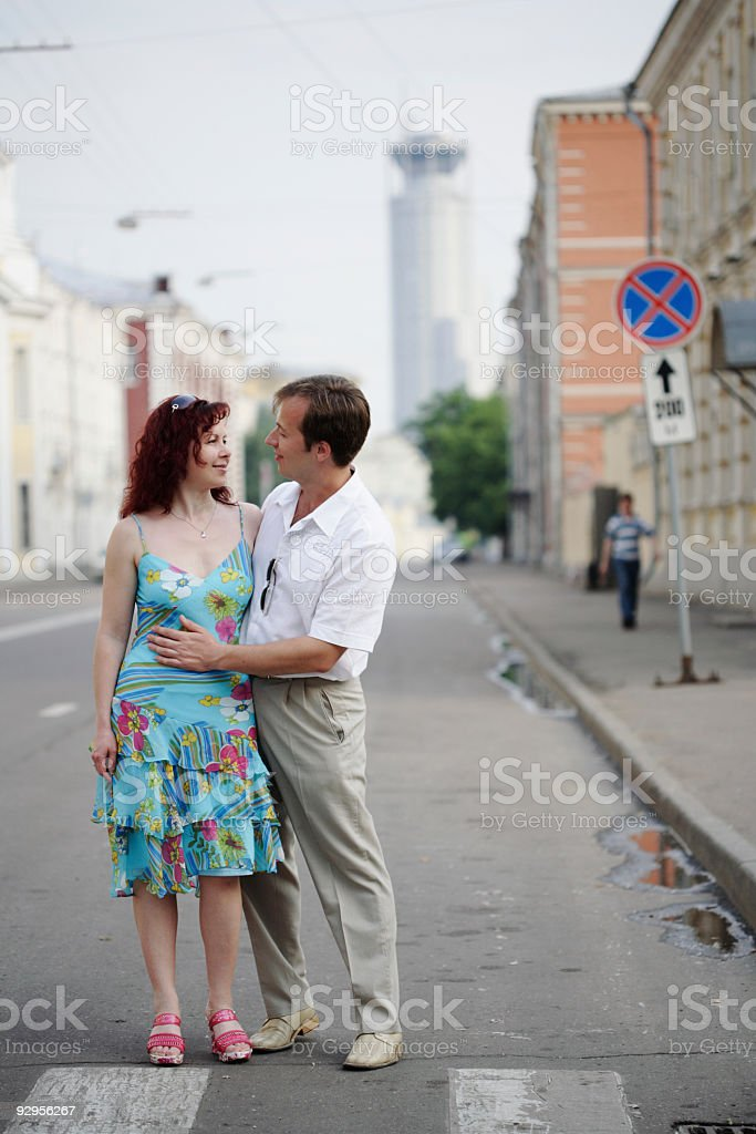 love in the city royalty-free stock photo