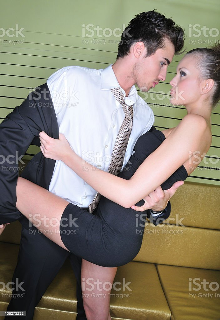Love in the club royalty-free stock photo