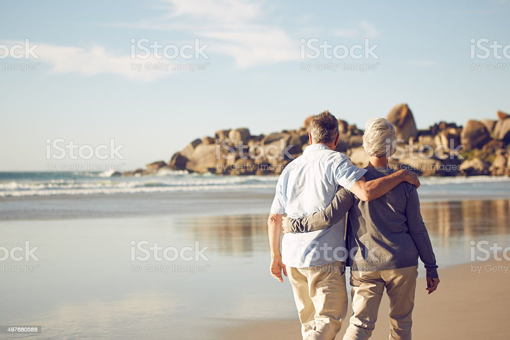 Love in the summer sun stock photo