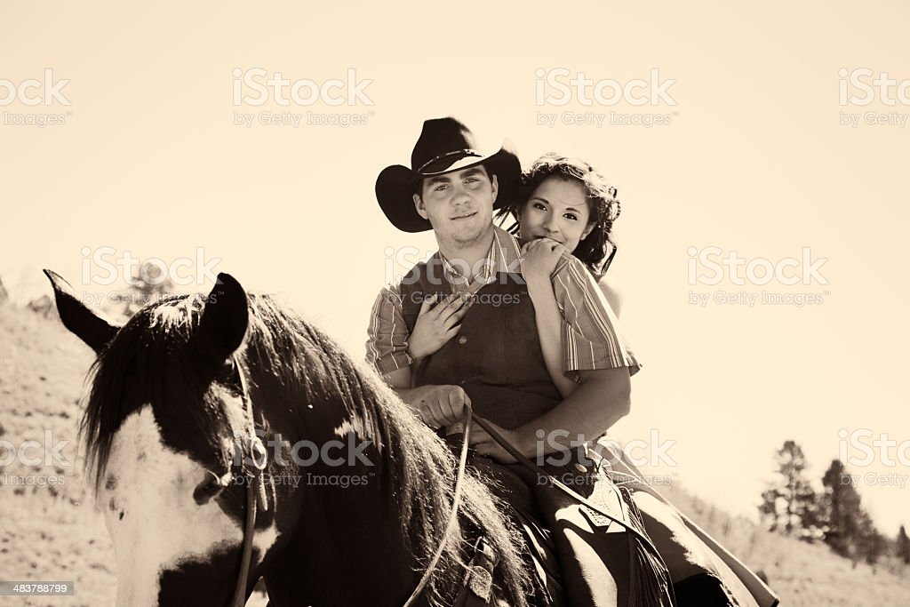 Love In The Wild West Stock Photo Download Image Now Istock