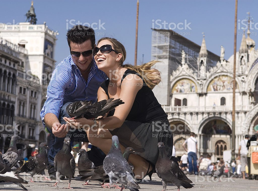 love in venice stock photo
