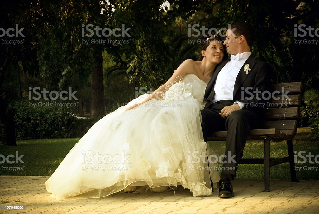 Love in your arms... royalty-free stock photo