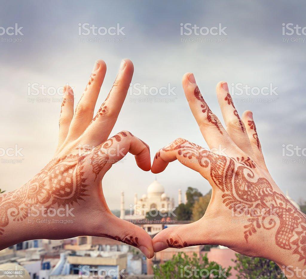 I love India concept stock photo