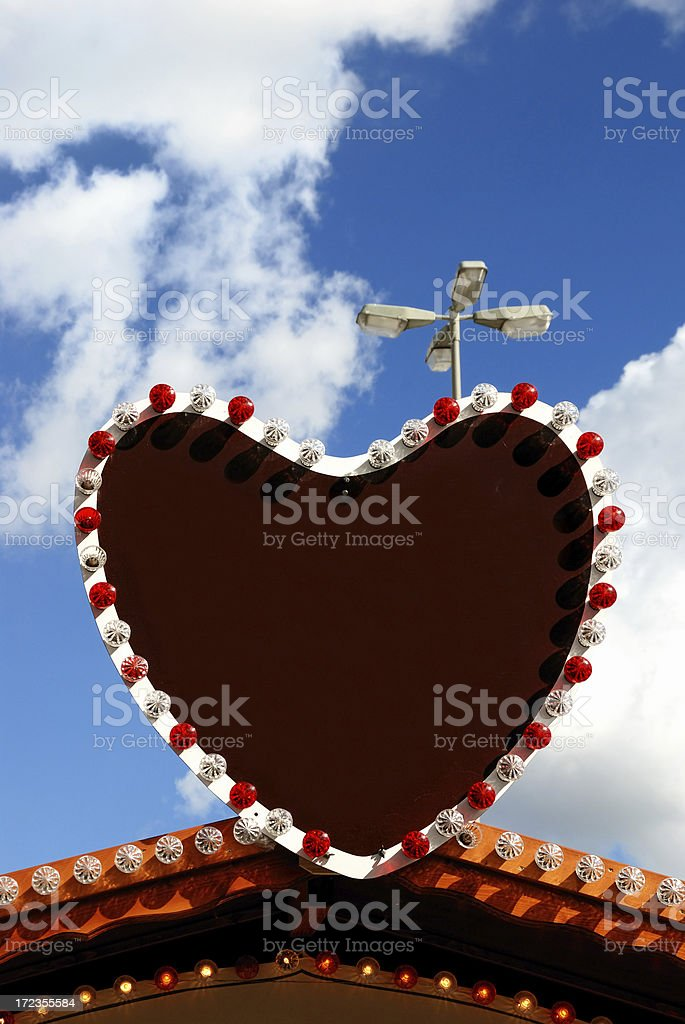 love is all around royalty-free stock photo