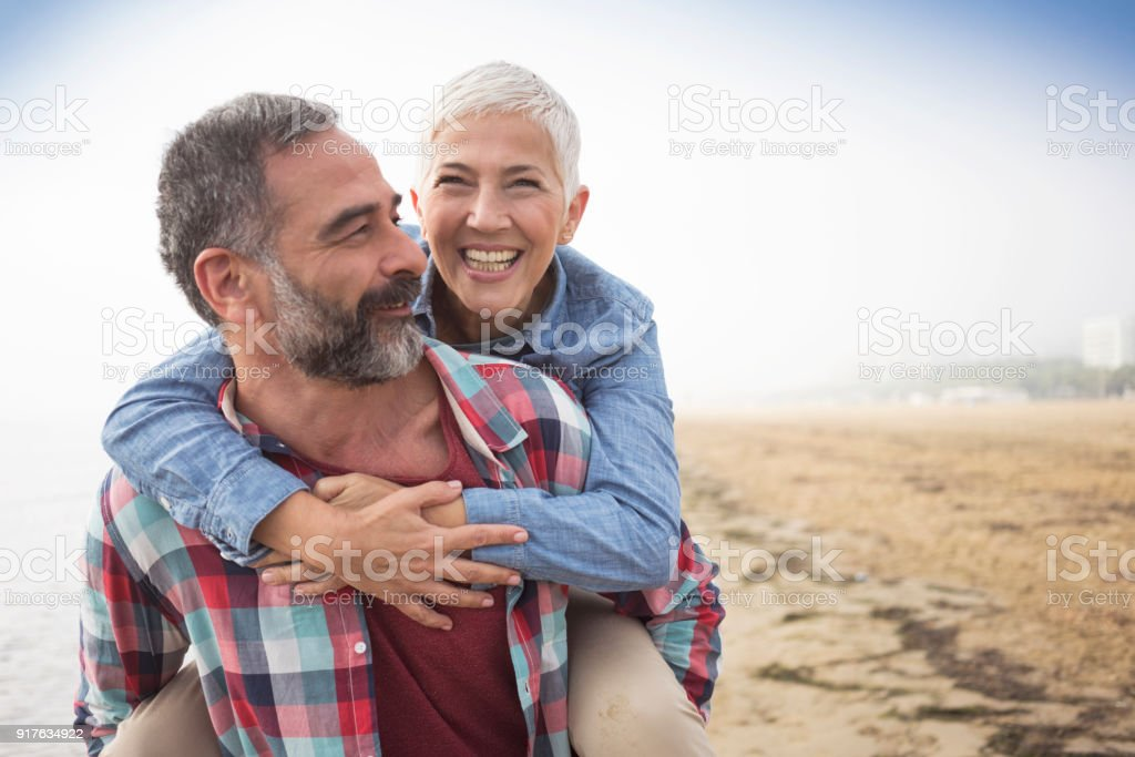 Love is always playful stock photo
