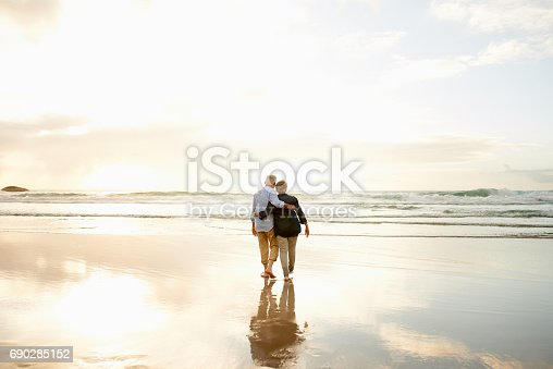 istock Love is finding someone to watch every sunset with you 690285152
