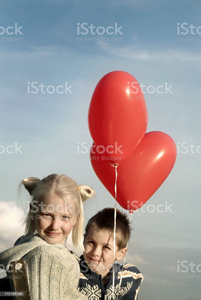 Love is in the air 03 royalty-free stock photo